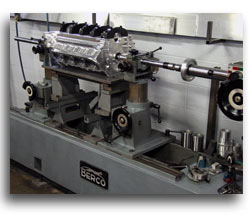 M&M Competition Racing Engines Berco Line Boring Honing Process